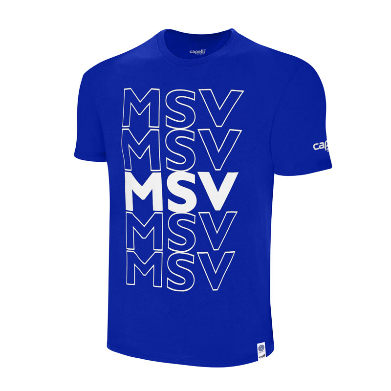 T-Shirt MSV royal