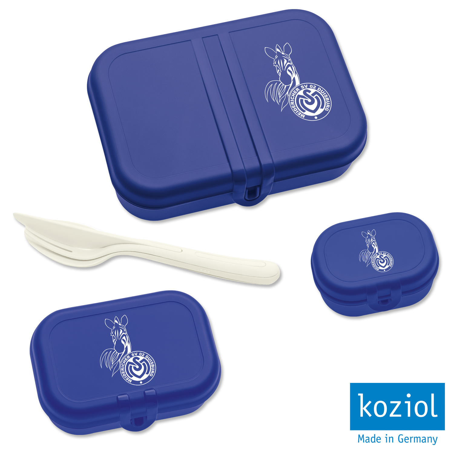 koziol Lunchbox-Set 4-teilig